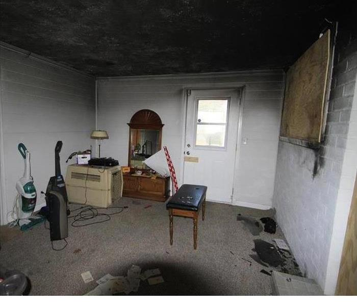 Fire Damage SERVPRO of W. St. Joseph County: Fire & Soot Cleanup
